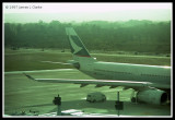 Cathay A330 tail
