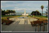 Approaching the War Memorial