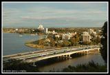 The Narrows' Bridge and South Perth