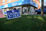 outside east side Detroit Obama Campaign Office
