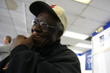 Eddie Hooker, 74 year-old volunteer