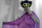 Masked Winter Woman
