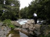 shooting the rapids along the Rio Trancura