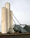 Black - Attebury Grain East - damaged storage bin.