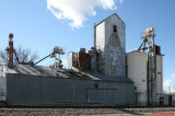 Dalhart - Welch Grain 4th St. - Studded construction with tile storage bins Mp 417.