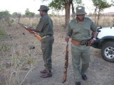 Kruger Rangers were guides