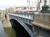 Bridge across Yarra River