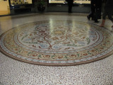 Tiled floor under main dome