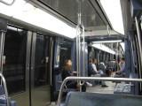 On the Metro train