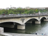 Seine Bridge by the Eiffel Tower