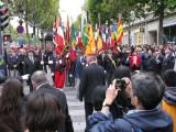 March to the Arc de Triumphe