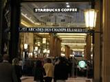 Starbucks in Paris (one of many)