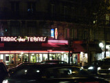 Cafe on the Rue Ternes
