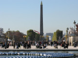 View from Tulleries - You can see the Grande Arche outlined in the Arche de Triumphe!