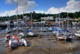 Tide's out at St. Aubin, Jersey