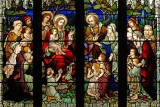 Jesus and the children, St.Mary's, Dartmouth