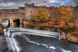 Pulteney Bridge and weir, Bath (2175)