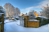 Winter wonderland, Martock, Somerset