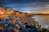 Early morning sun, Lyme Regis, Dorset (2731)
