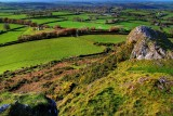 View from Brentor, Dartmoor, Devon
