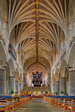 The Nave, Exeter Cathedral, Devon (7574)
