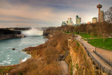 Pathway and Horseshoe Falls, Niagara