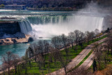 Horseshoe Falls from the Skywheel, Niagara