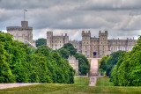 Castle from 'The Long Walk', Windsor