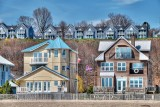 Beachside homes, Port Stanley