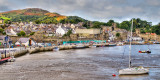 Quayside and town, Conwy