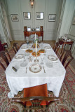 Dining room, Mompesson House, Wiltshire