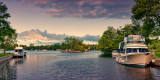 Boats and island, Bobcaygeon