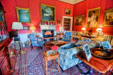 Sitting room, Stourhead, Wiltshire
