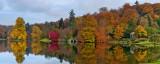 Multicoloured vista, Stourhead