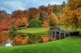 Bridge and colours, Stourhead