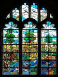 Stained glass, Great Chalfield, Wiltshire