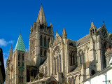 Side view of Truro Cathedral (2019)