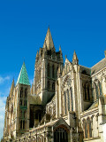 Towers and spires, Truro Cathedral, Cornwall
