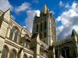Main tower of Truro Cathedral, Cornwall