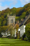 Church and homes, Milton Abbas (3011)