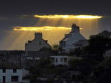 Hole in the sky, Lyme Regis, Dorset (2681)