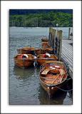 Rowing boats, Bowness, Lake Windermere, Cumbria