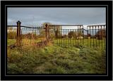 Frost and gate, Martock