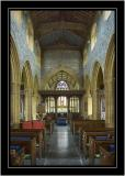 The nave, Holy Trinity, Long Sutton, Somerset