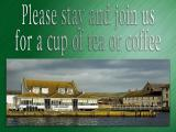 'Tea or coffee' slide from the West Bay series