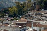 View across the village centre, Mijas