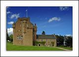 Crathes Castle front, Banchory, Aberdeenshire, Scotland