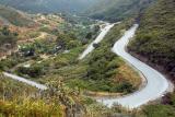 Road between Monda and Ochen, Andalucia