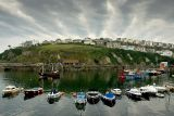 Boats and clouds, Mevagissey, Cornwall