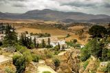 Gorge and mountains, Ronda